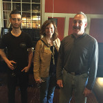 Jason Rodriguez, Park View Wine and Spirits; Sheryl Kennedy-Albini; Keith Arkin, Park View Wine and Spirits.