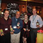 Mike Mills, Senior Brand Ambassador, RIPE Bar Juce; Jay Scenti, Campari America; Nicole Mercier, Promotions; Gary Dritschler, Market Manager, Campari America.