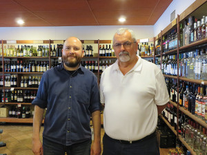 Manager Chris Meyer and Store Owner Rodney