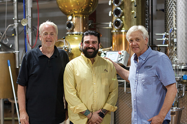 Litchfield Distillery Adds Zahariadis as Brand Ambassador