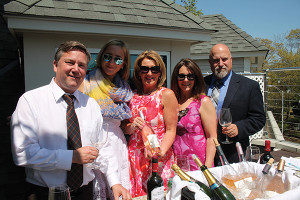 Bill Saroka, Wine Director, Hartley & Parker; Crissy Peterson, Select Brands Manager, Hartley & Parker; Patricia Allen Lornell, Brand Ambassador, Off the Vine; Andrea Viscuso, Off The Vine; Doug Preston, Sales Representative, Hartley & Parker.
