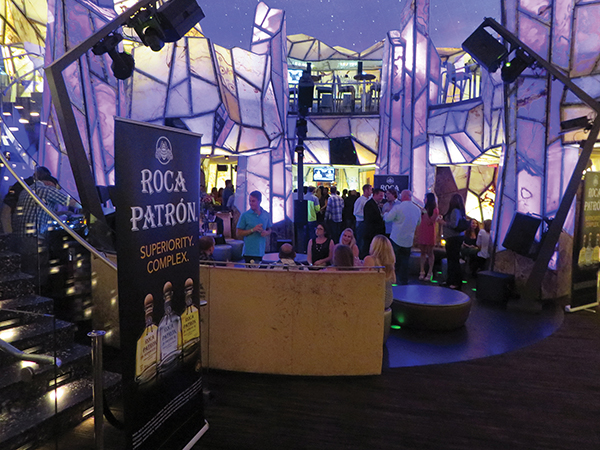 Roca Patrón Launches at Mohegan Sun's Vista Lounge with CDI