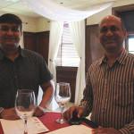 Paul Rathod and Venkata Maganti of Empire Wine and Spirits in Waterbury.