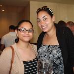 Kareena Rijos and Trina Gallo of Spotlight Theaters in Hartford.