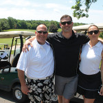 All from Opici Family Distributing of Connecticut: Scott Randall, Jeff Sansone and Renee Reignier.