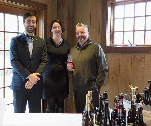 Brescome Barton Hosts Wine Tasting at Winvian