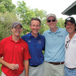 Joe Corcoran, Datapay; Doug Bowie, Co-Owner, Waypoint Spirits; Jim O'Sullivan, Datapay; Dave Rossi, Co-Owner, Waypoint Spirits.