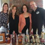 Katie Schoen, Sales Representative, Slocum & Sons; Maureen Pesticci, Compliance Manager, Slocum & Sons; Marcia Passavant, Senior Brand Manager, Slocum & Sons; Dennis Rochford, Regional Brand Manager, Hotel California Tequila.