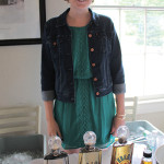Erin Griffin, Graphic Design Manager, Slocum & Sons with Karma Tequila.