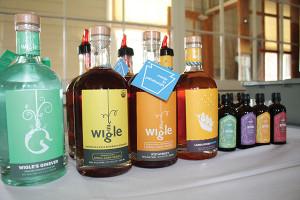 Wigle Whiskey, spirits and organic aromatic bitters.