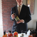 Niall Houton, CSW, Sales Representative, Slocum & Sons with Glendalough Whiskey.