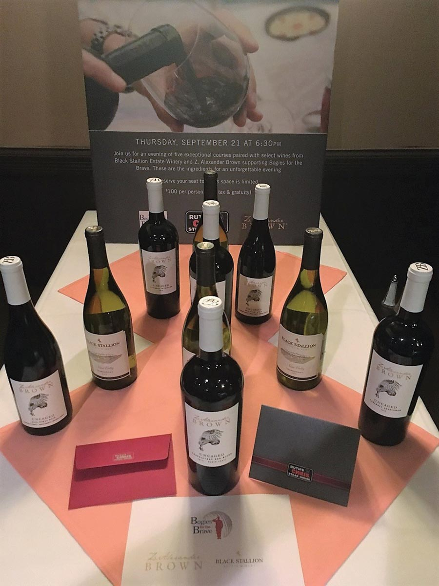 Hartley & Parker and Delicato Family Vineyards Host Charity Dinner