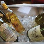 2013 EnRoute Chaddonnay, 2014 Far Niente Chardonnay and 2009 Dolce by Far Niente.