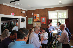 The Nickle & Nickle wine tasting at Café Routier.