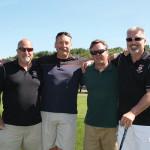 All from Hartley & Parker: Doug Preston, Regional Manager; Paul Jaronko, District Manager; Bill Saroka, Wine Director; Steve Fanelli, Key Account Manager.