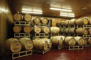 The barrels.