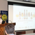 Christopher Toia, Regional Market Manager, Boulevard Brewing Company, spoke about the Boulevard Brewing Company brand within the Duvel USA portfolio.