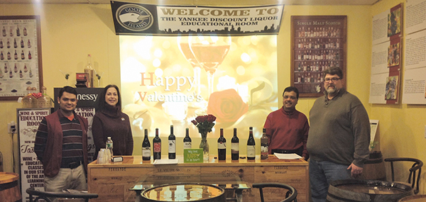 Valentine's Day Wines Celebrated at Yankee Discount Liquor