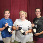 Michaela Indermaur, Blair Barnette, Suzanne Zikoski, Jonathan Edwards Winery.