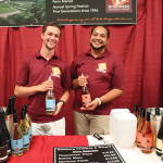 Danial Morris and Marquis Lawson, Holmberg Orchard and Winery.