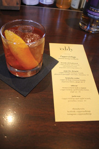 The Brandy Old Fashioned cocktail featuring Copper & Kings Aged Brandy.