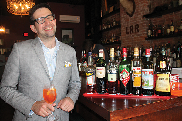 Campari Global Ambassador Showcases Italian Liqueurs