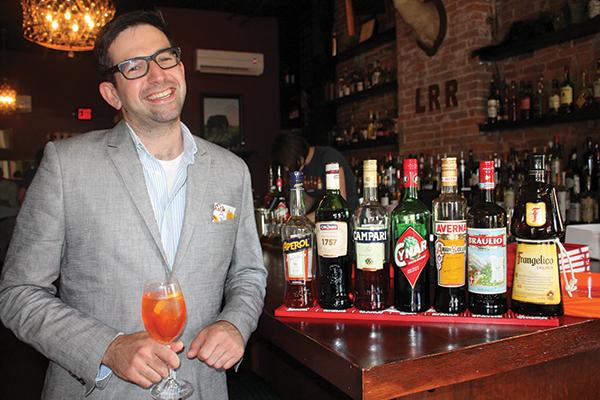 Nick Korn, Italian Spirits Specialist and Campari Global Ambassador.