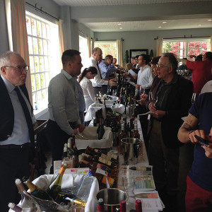 The scene at Pearl for Hartley & Parker's May 10 tasting.