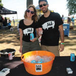 Oxford's Black Hog Brewing Company Street Team, Bryce and Katie Chamberlain.