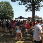 The ShakesBeer Festival crowd.