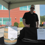 Case McClellan, Olde Burnside Brewing Company of East Hartford. Their brew took home second place.
