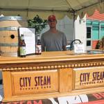Jack Heslin of City Steam Brewery Café in Hartford.