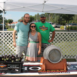 All of Thomas Hooker Brewery: Alex Dee, Emily Piecuch and Scott Edelson, who placed third.