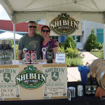Rich and Nancy Visco, Owners, Shebeen Brewing Company of Wolcott, winners of the 2015 Secret Stash Beer Bash.