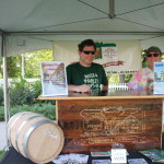 Willimantic Brewing Company's Dave Wollner and Marty Schwartz.