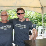 Walter and Tom Drejer of Outer Light Brewing Company in Groton.