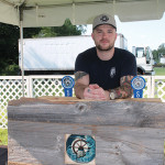 Sean Piel of Cold Creek Brewery in Ellington. Cold Creek Brewery took home first place in the Secret Stash Beer Bash.