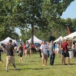 Guests during the Secret Stash Beer Bash festival.