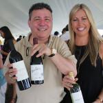 Antonello Cozzula, Fine Wine Manager East Coast, Palm Bay International; Alena Josephson, Representative, Vine Ventures.