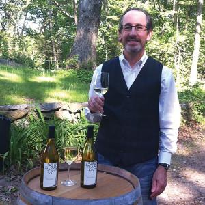 Director of Wine Education Steve Krohn with Blessed Blend