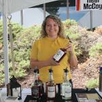 Abbi Miller of Stonington-based Real McCoy Spirits.