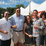 Mike Tobin, Sales Representative, Worldwide Wines; Geoffrey Mansfield, President, Worldwide Wines; Grazia Pelosi, Executive Vice President, Worldwide Wines; Brian Kociszewski, Worldwide Wines; Dyan Grant, Worldwide Wines.