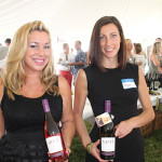 Donna Taylor and Megas Hass with Scheid Family Selections pouring Gifft Wines by Kathy Lee Gifford.