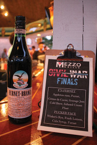 Fernet-Branca was the sponsored liqueur during the USBG CT Civil War competition finale.