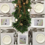 "Place setting for ""UNO: el fin a Pop-Up Dinner,"" prepared by Max Catering."