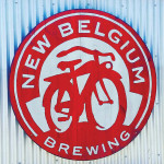 The New Belgium Brewing Co.'s bike logo.