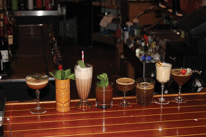 A selection of the cocktails.