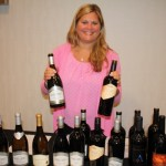 Erin Hall of The Tasting Co. with Ferrari Carano Selections.