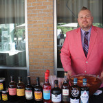 Roger Gross, United States Bartenders Guild Connecticut (USBG CT) chapter member, serving cocktails featuring Anchor Distilling Company spirits.