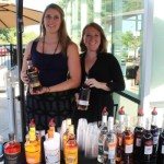 Caroline Abbot and Aleen Saraceno of Inspired Beverage.
